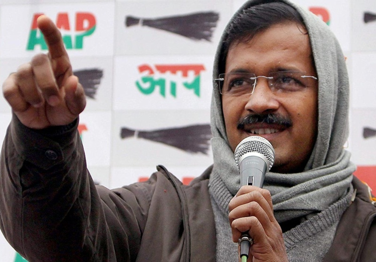 Arvind Kejriwal in Dubai to convert black money into white, claims BJP