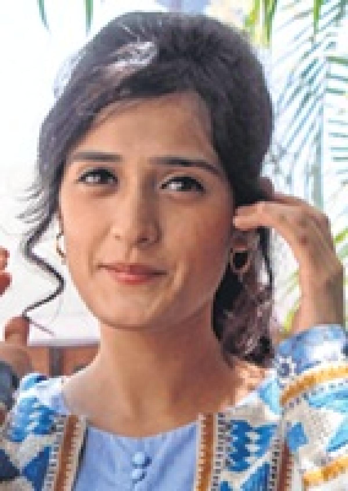 Bhopal: Pankhuri comes calling to promote 'Kya Qusoor Hai Amala Ka'