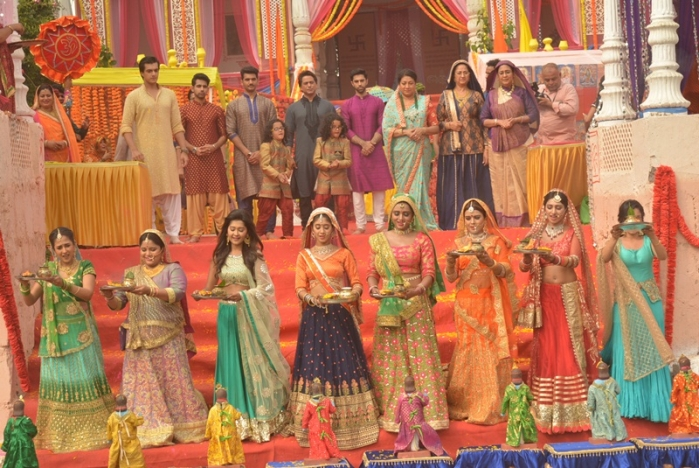 In Pictures: Gangaur in 'Yeh Rishta Kya Kehlata Hai' on Star Plus