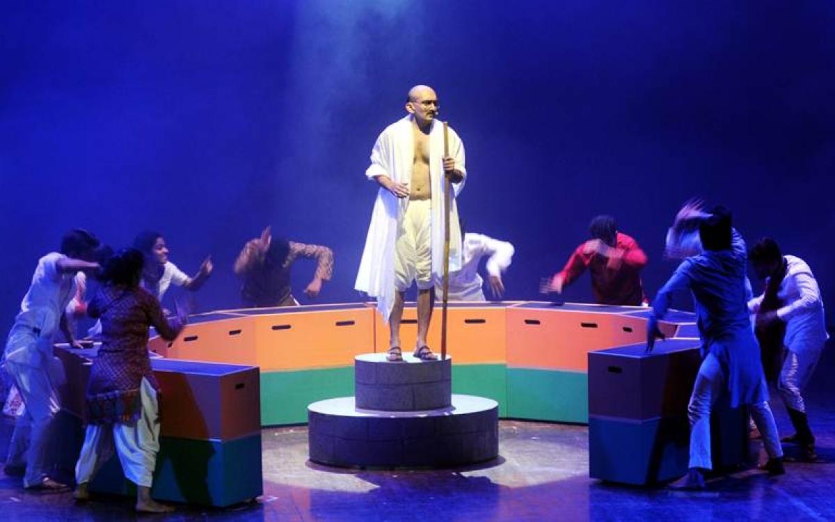 Mumbai brings you Gandhi the musical in broadway style