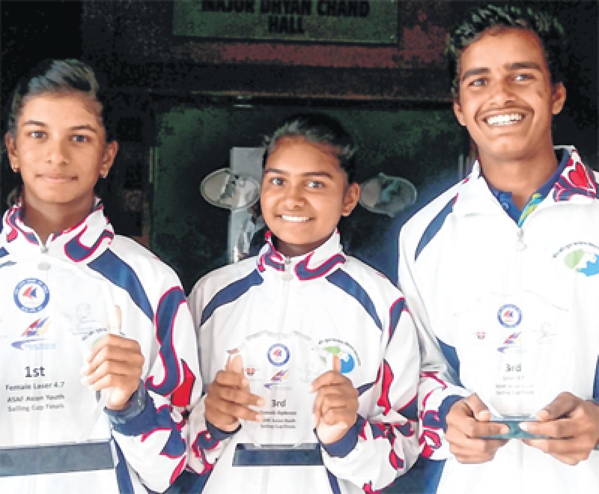 Bhopal: Harshita overall champ in Dubai sailing tourney