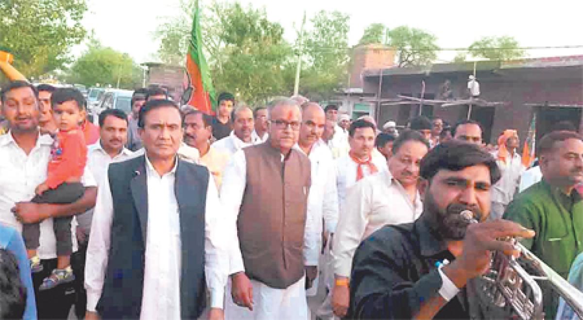 Bhopal: Unsure of victory, top BJP men descend on Ater