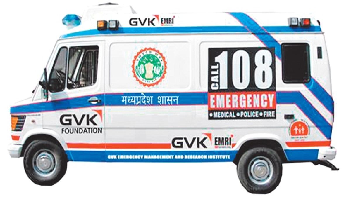 Indore: Emergency services hit hard as ambulance services strike work