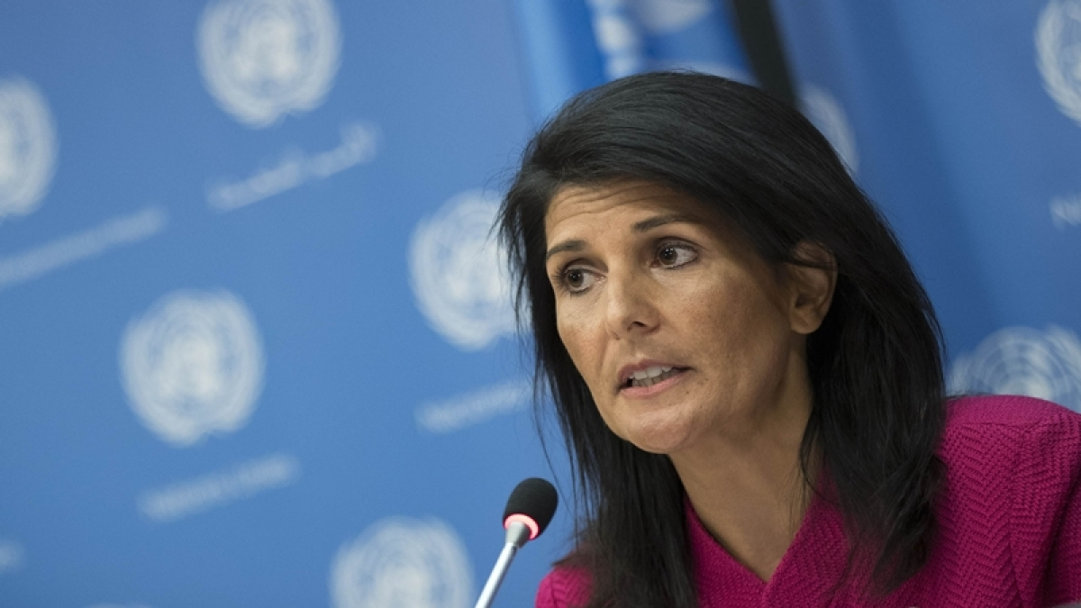 Nikki Haley hits out at Pakistan for harbouring terrorism, says US should not give them even a dollar