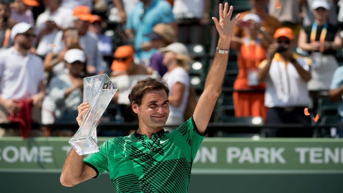 Roger Federer tops Rafael Nadal once again, wins Miami Open title