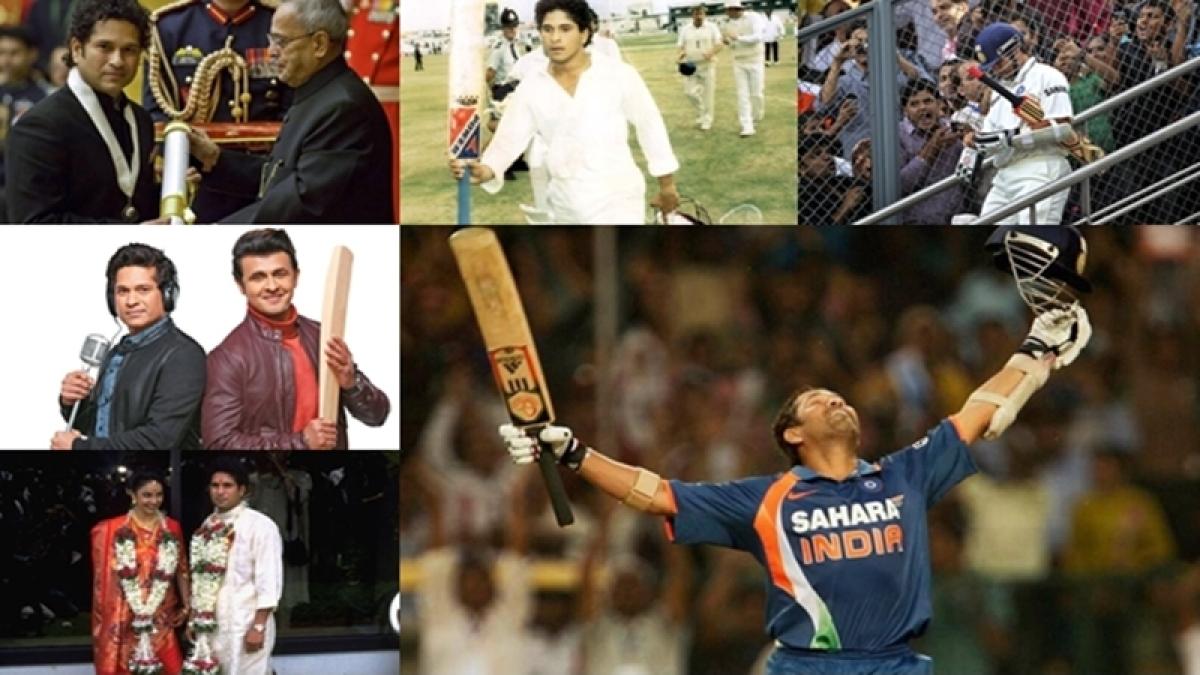 In pictures: A must watch journey of Master Blaster Sachin Tendulkar