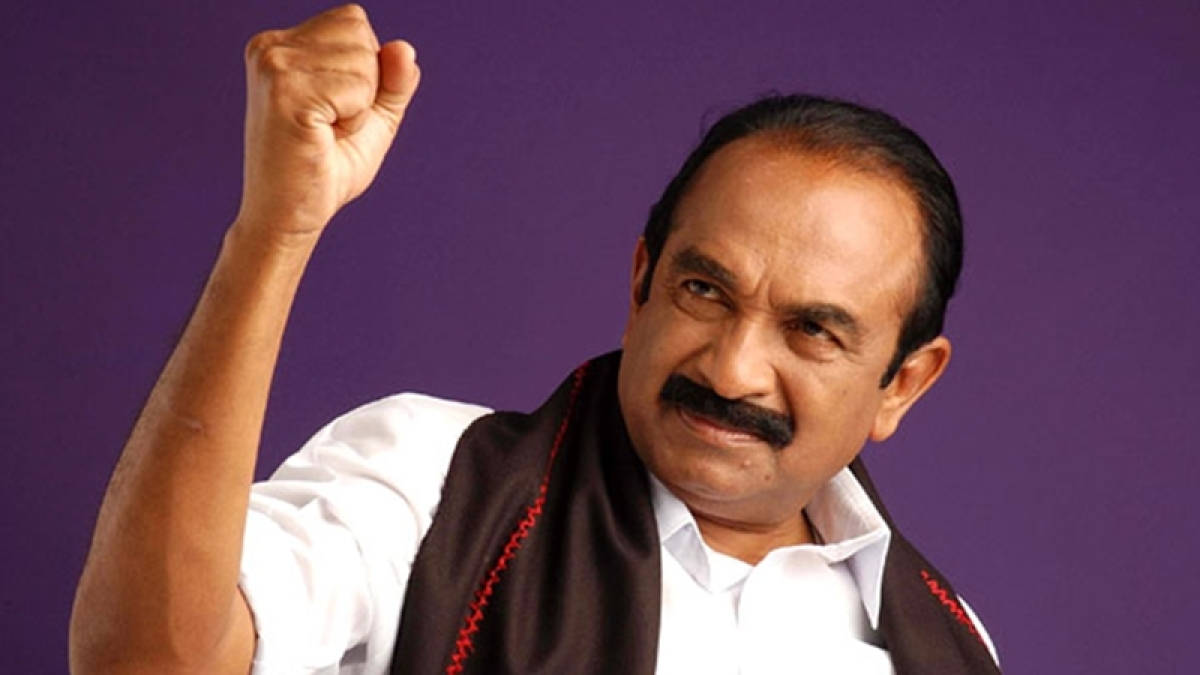 MDMK chief Vaiko surrenders in sedition case, remanded in judicial custody
