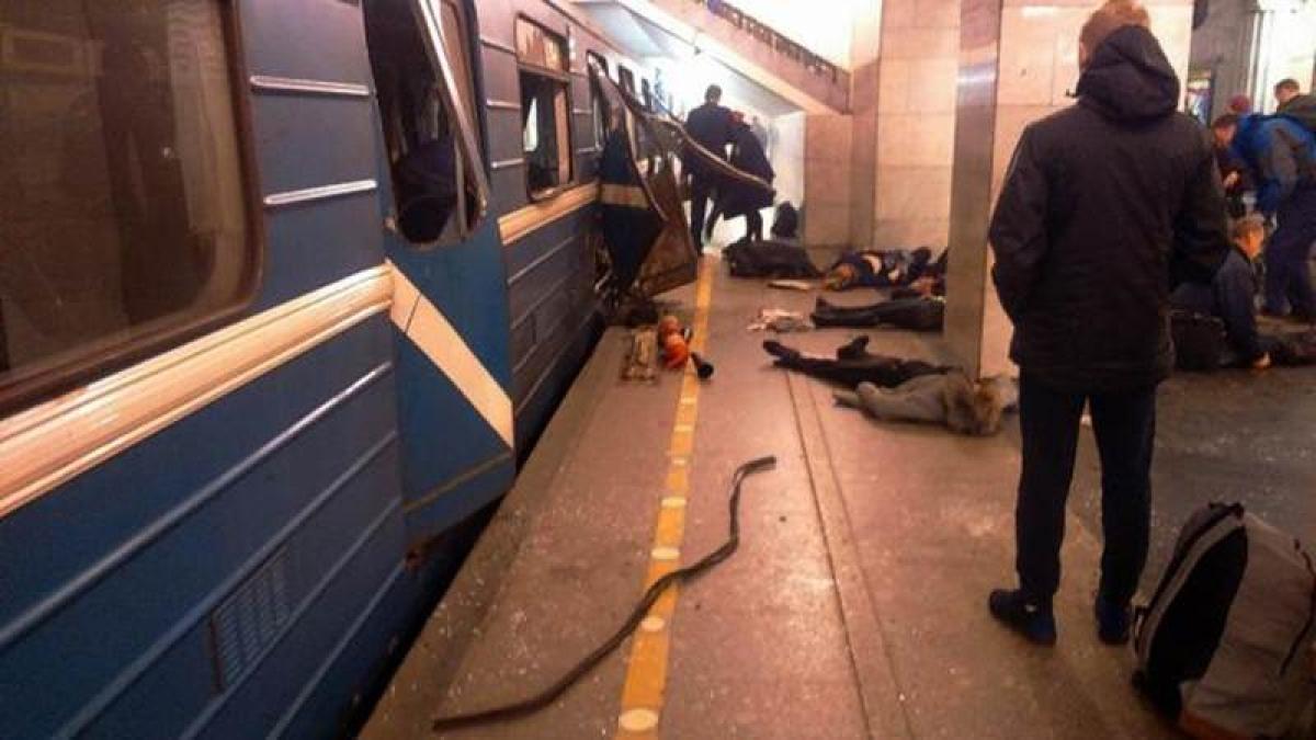 10 dead, 50 injured in Russia Metro explosion
