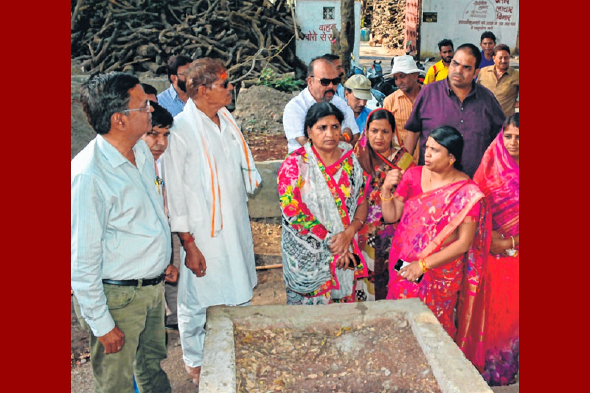 Ujjain: Mayor miffed with slow development work at Chakratirth