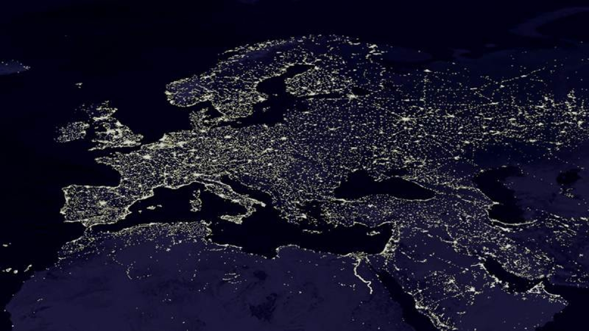 NASA releases new global maps of Earth at night