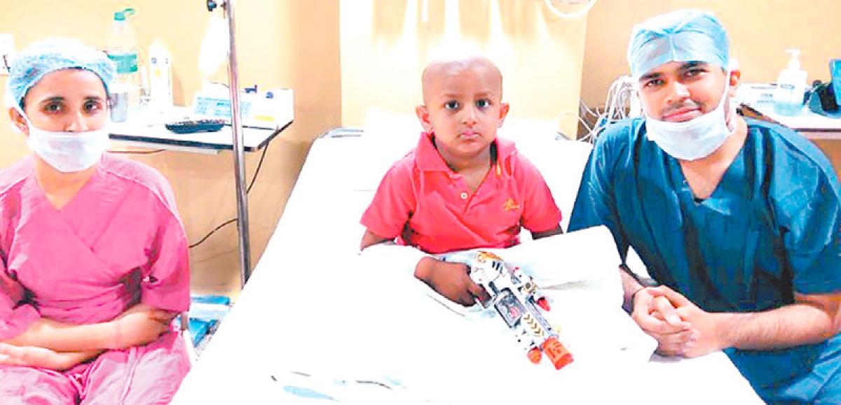 First haplo-identical bone marrow transplant in Indore