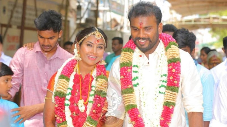 Vijay Tv Serial Actress Myna Marriage Photos ✓ Fitrini's