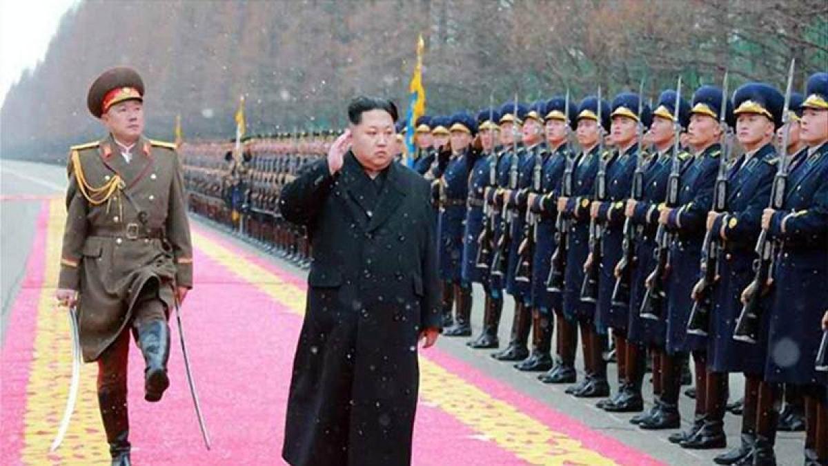 North Korea prepares grand military parade on eve of Olympics: report