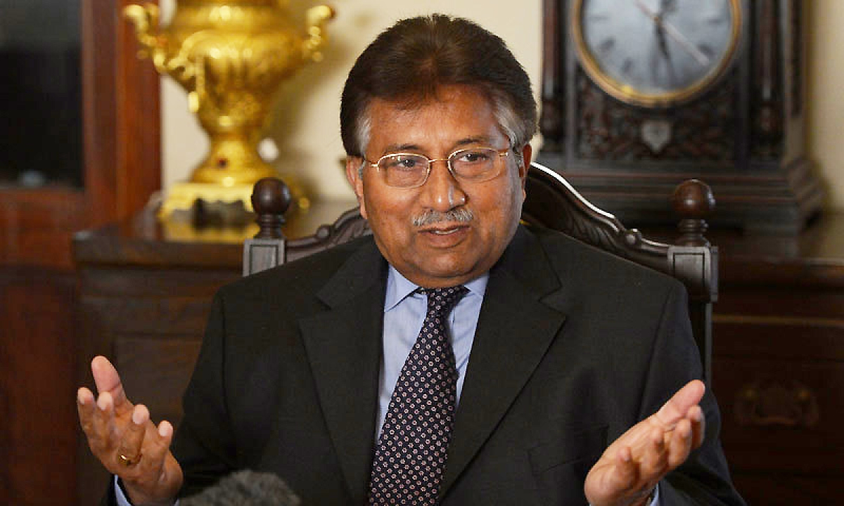 'Musharraf claims Zardari responsible for Benazir's killing'