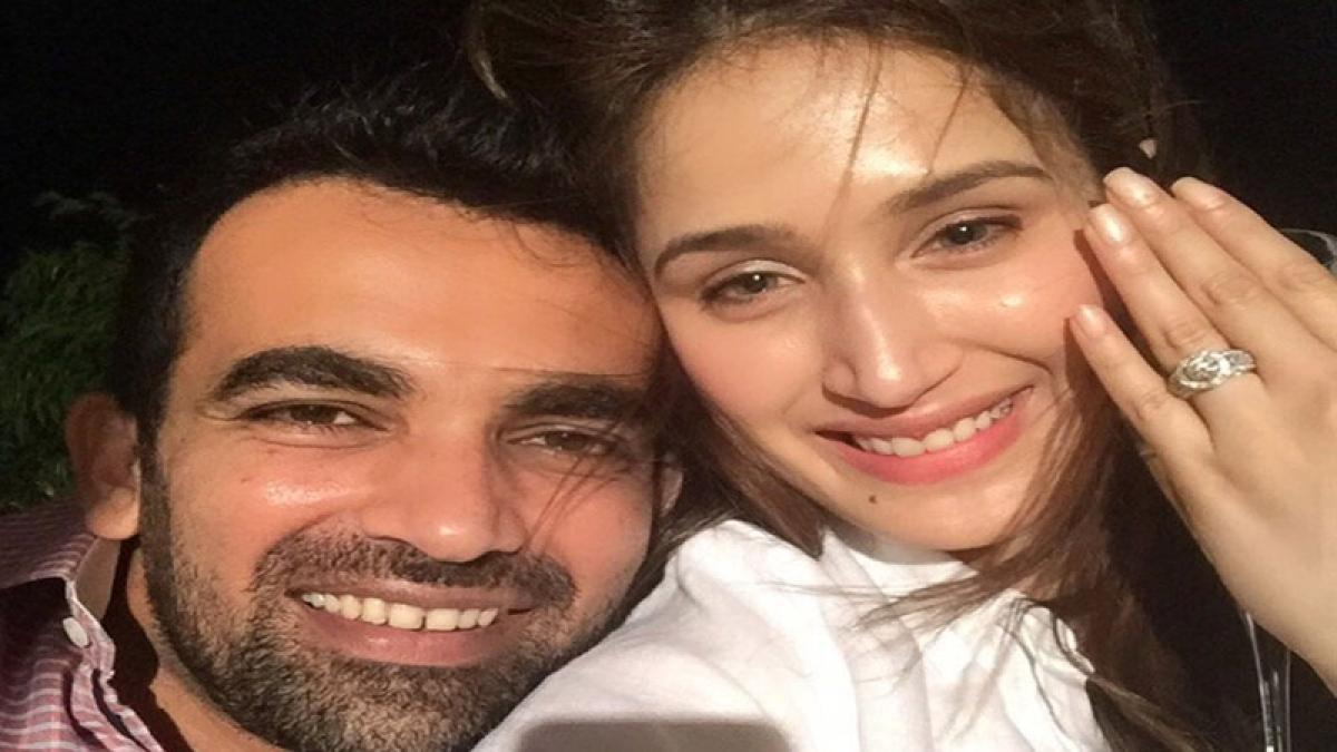 Cricketer Zaheer Khan is engaged to actress Sagarika Ghatge