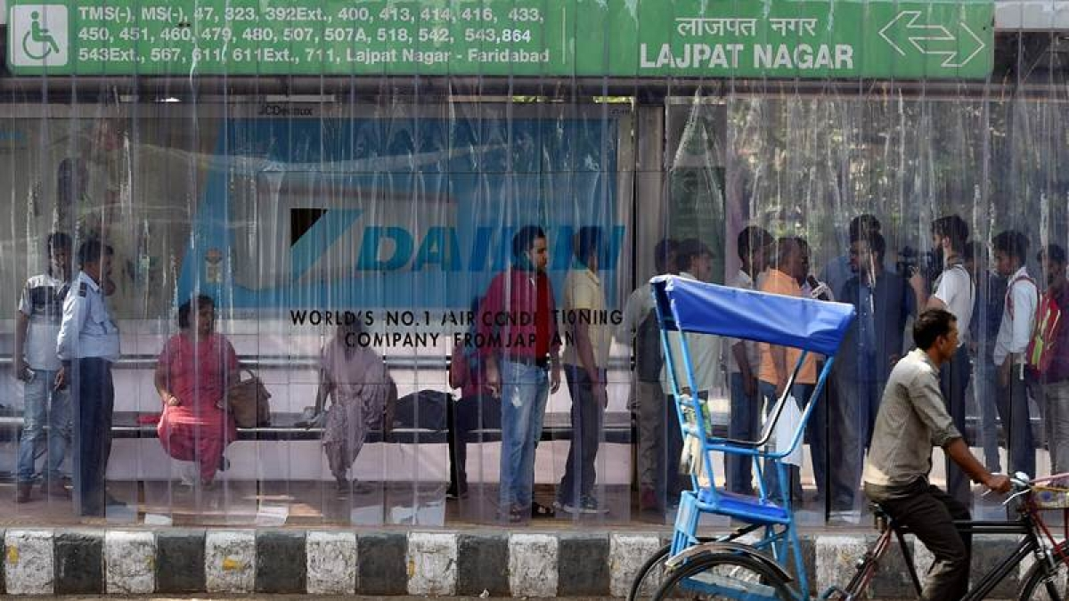 Delhi: City gets its first ever AC bus stand in Lajpat Nagar
