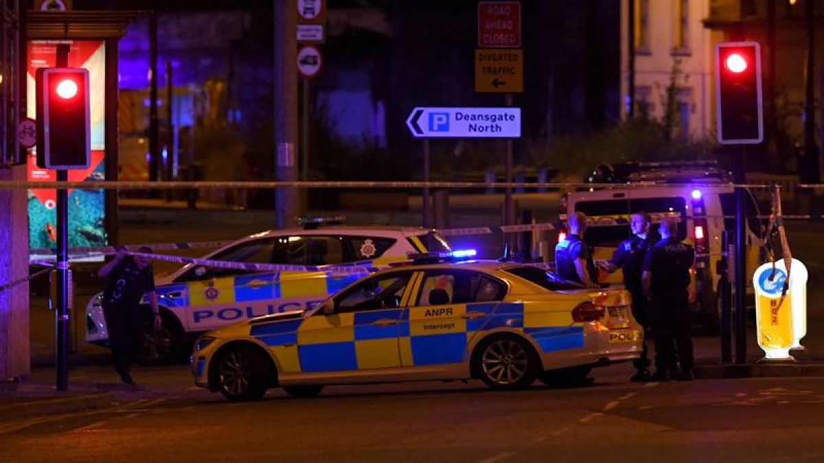 Ariana Grande 'broken' after UK concert terror attack