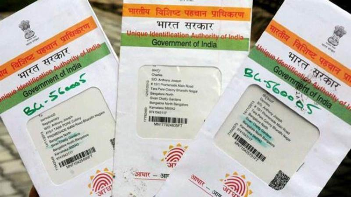 Aadhaar card made mandatory for opening bank A/c, transaction over Rs 50K