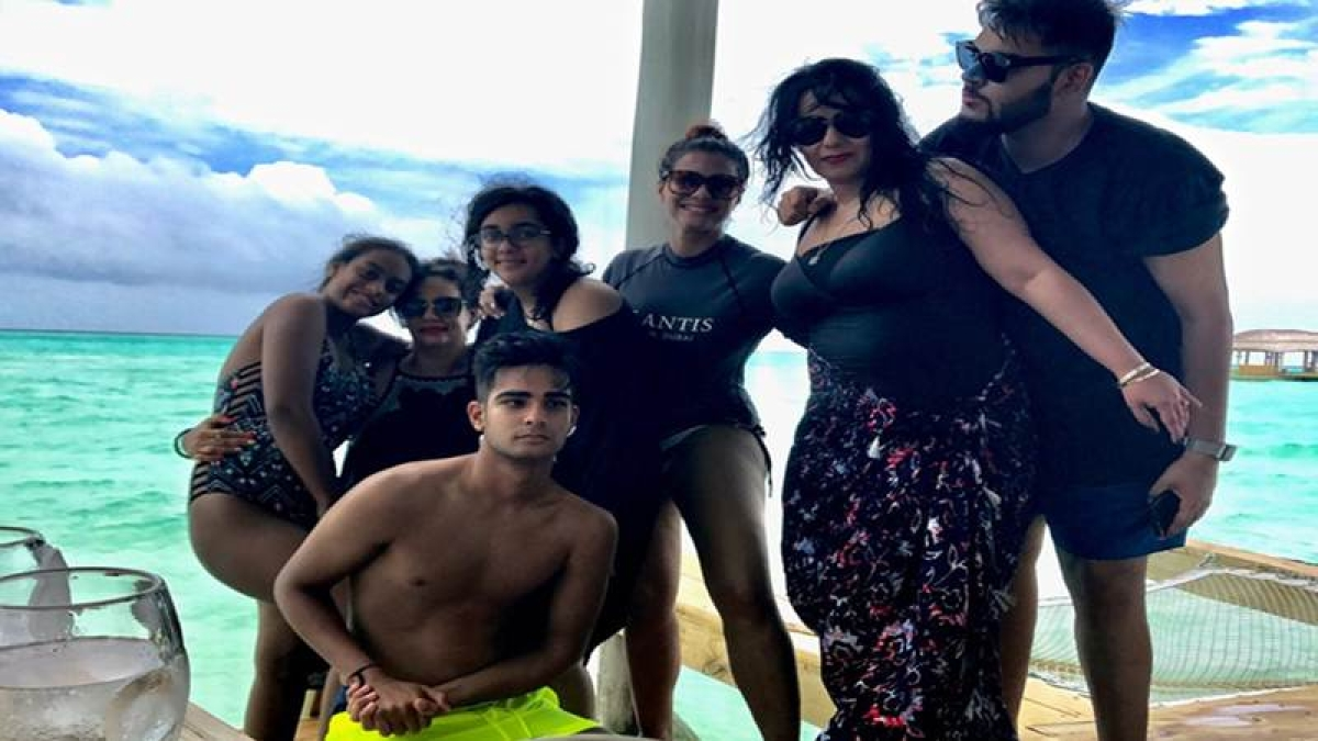 Family Time! Ajay Devgn, Kajol shares fun pictures of holidaying in Maldives