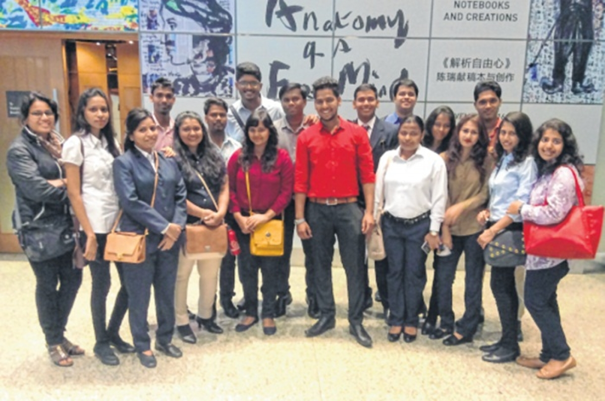 Brims confer wings to its PGDM students to fly high