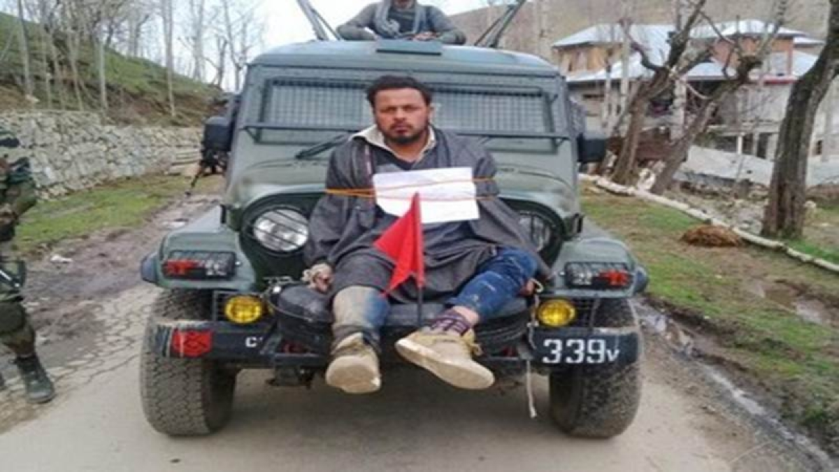 Human shield row: SHRC asks Jammu-Kashmir Govt. to provide compensation to Farooq Dar