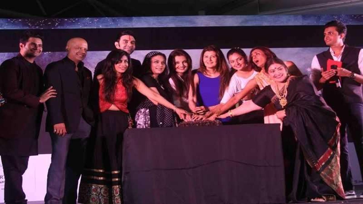 """Sangeeta Bijlani, Karan Mehra and Vinod Kambli at Grand Finale of """"4th India Dance Week"""""""