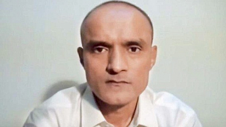 New Delhi: File photo of former Indian naval officer Kulbhushan Jadhav who has been sentenced to death by a Pakistani military court on charges of 'espionage'. PTI Photo (PTI4_11_2017_000103B)