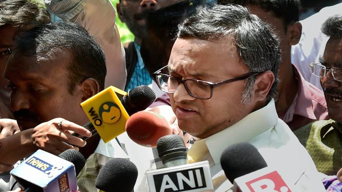 Supreme Court stays High Court's order staying look out circular against Karti Chidambaram