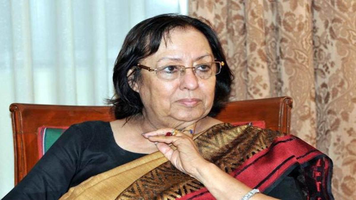 Najma Heptulla appointed as new Jamia Millia Islamia Chancellor
