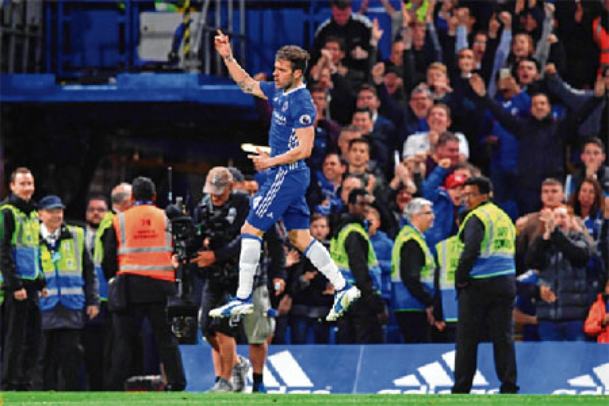 Fabregas foils Watford in Chelsea title party