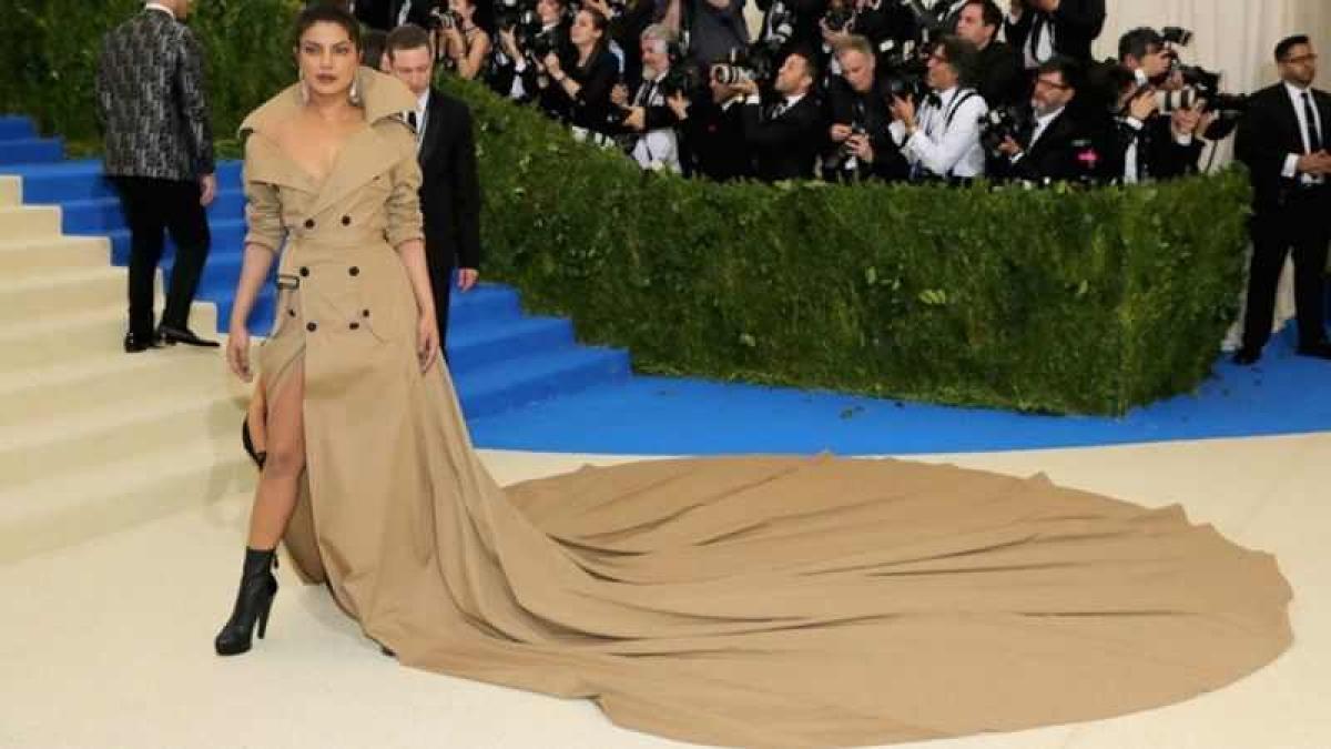 Priyanka Chopra gets her MET gala gown back!