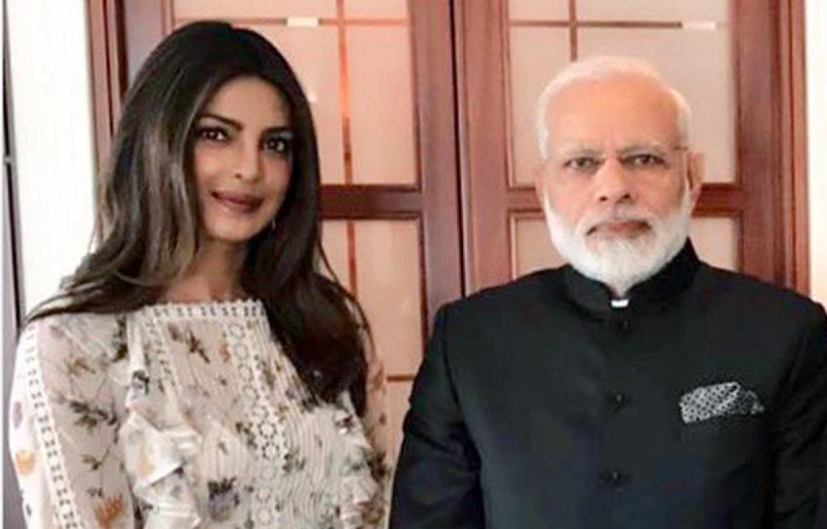 Priyanka Chopra's response to being trolled for dress during Modi meet is spot on