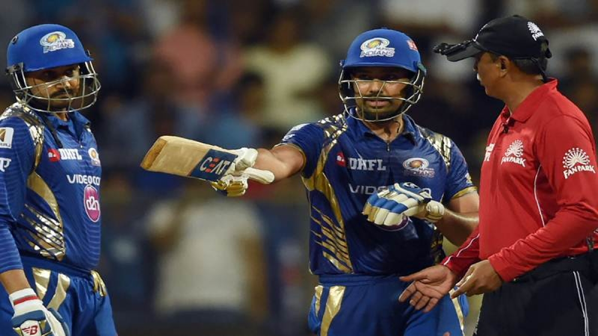 Rohit Sharma's outburst to MSD's DRS gesture: IPL 10's bizarre controversies