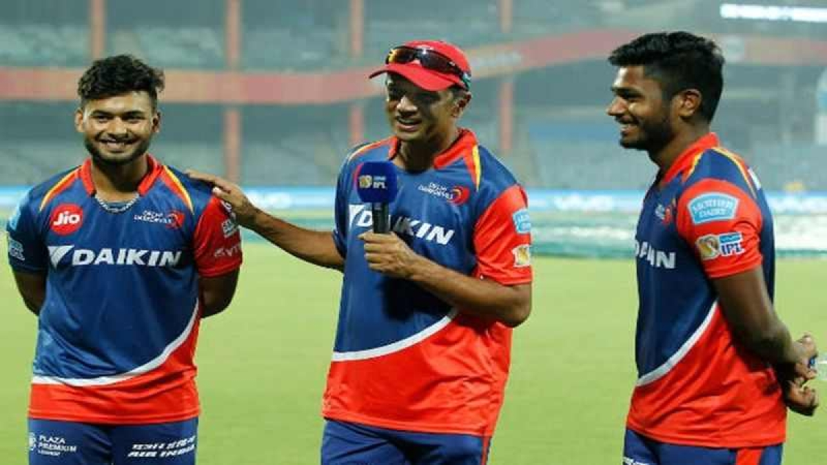 IPL 2017: Glad that you haven't watched me bat, says Dravid to Pant, Sanju Samson