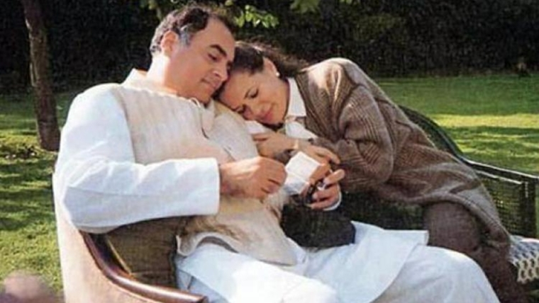 Sonia and Rajiv Gandhi's perfect love story with a tragic end