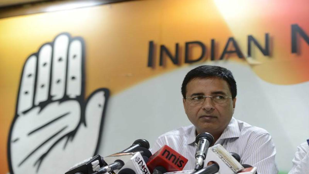 Ask BJP before getting married: Randeep Surjewala