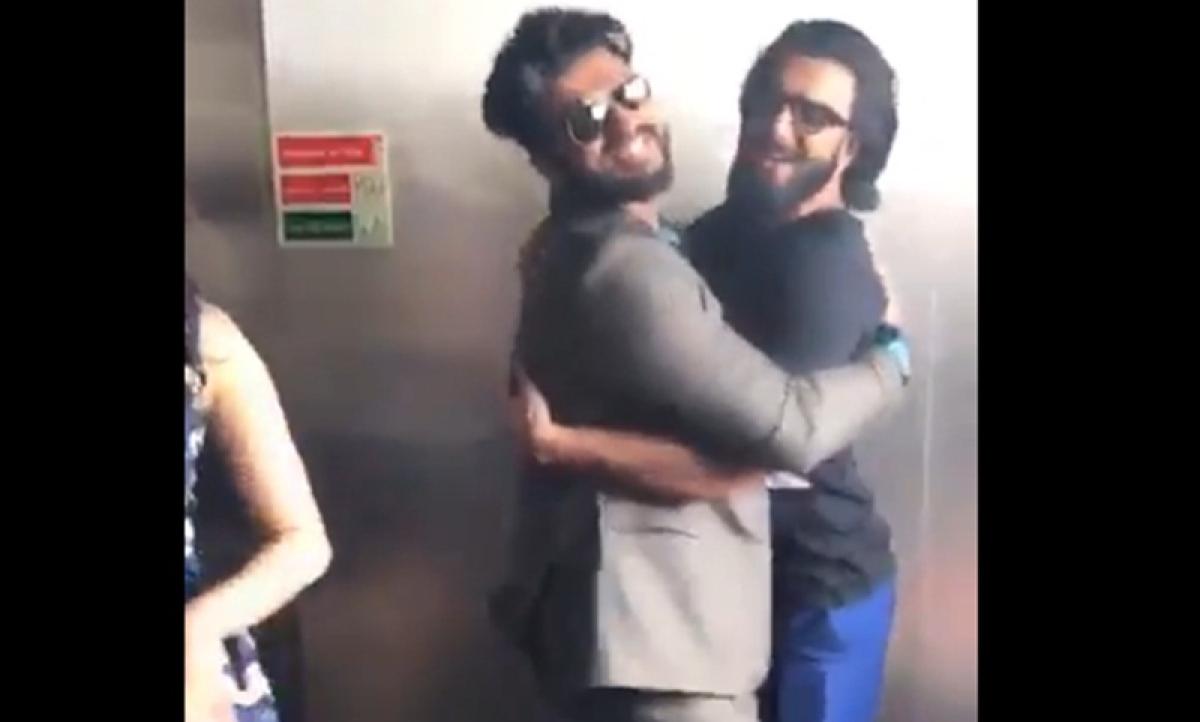 Ranveer turns 'half girlfriend' for Arjun Kapoor