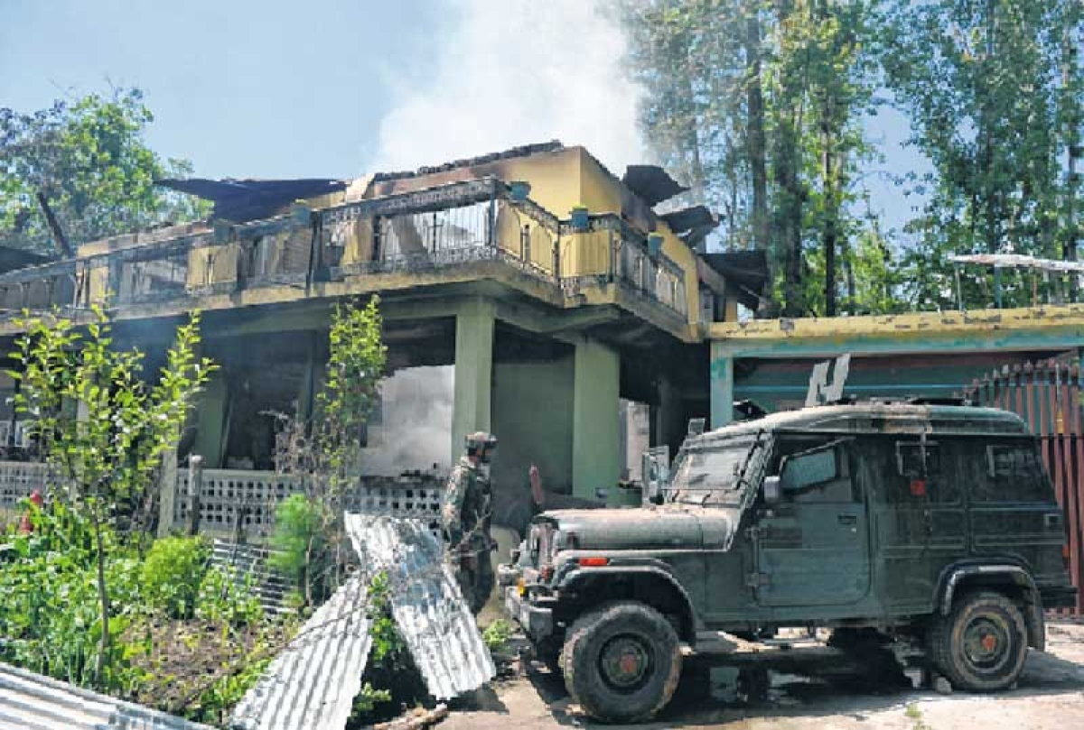 Latest Update on  : Hizbul commander & Wani's successor shot dead in Valley