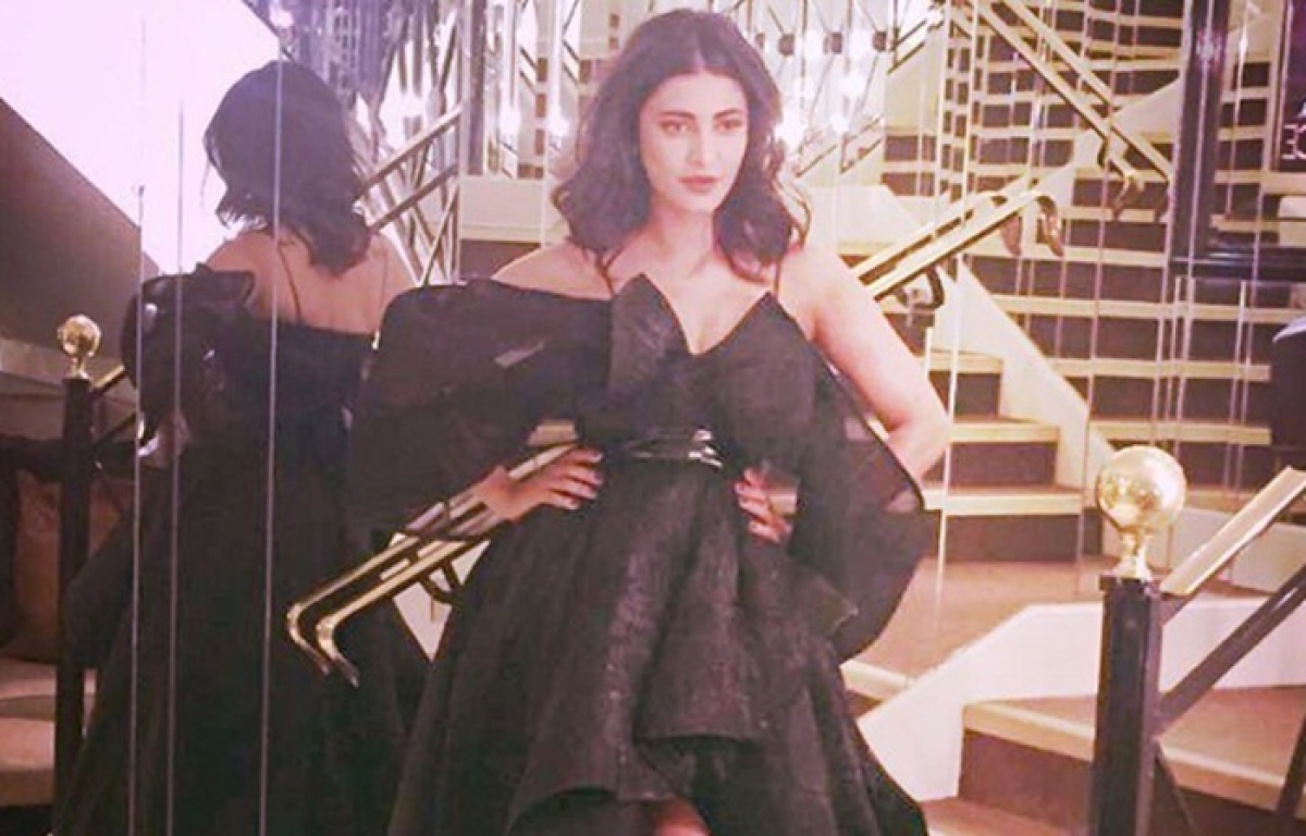 Cannes 2017: Shruti Haasan graces Film Festival with 'Sangamithra'