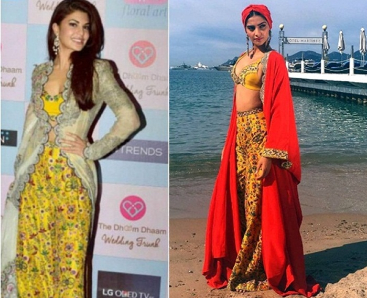 Cannes 2017: Sonam Kapoor copies fashion statement from Jacqueline Fernandez?