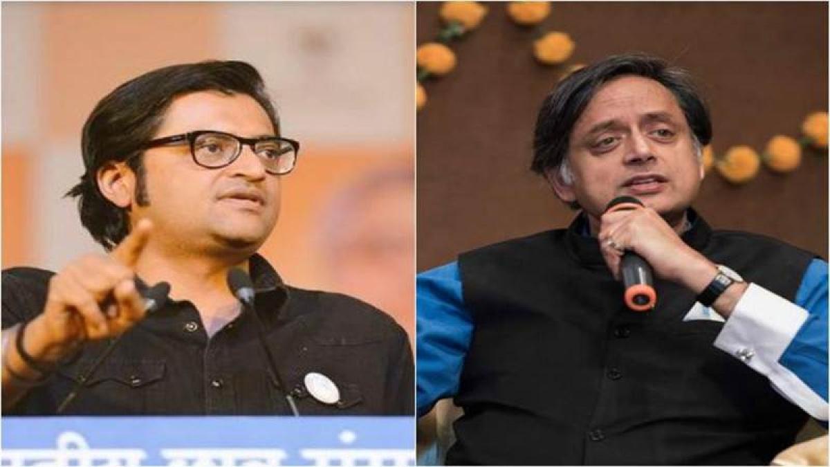 Bring down the rhetoric with Shashi Tharoor: Delhi HC to Arnab Goswami, Republic
