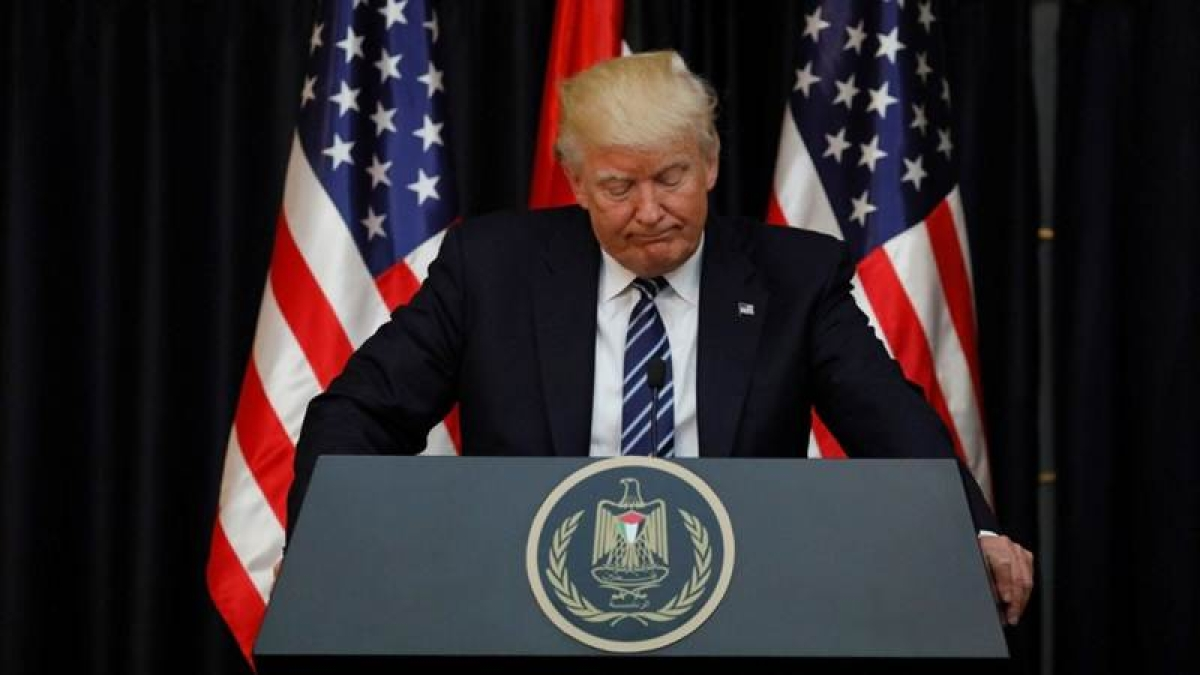 Donald Trump vows resolve against terrorism following Manchester attack