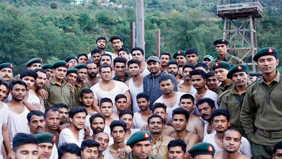 The Indian Army trains 600 actors for Salman Khan's Tubelight