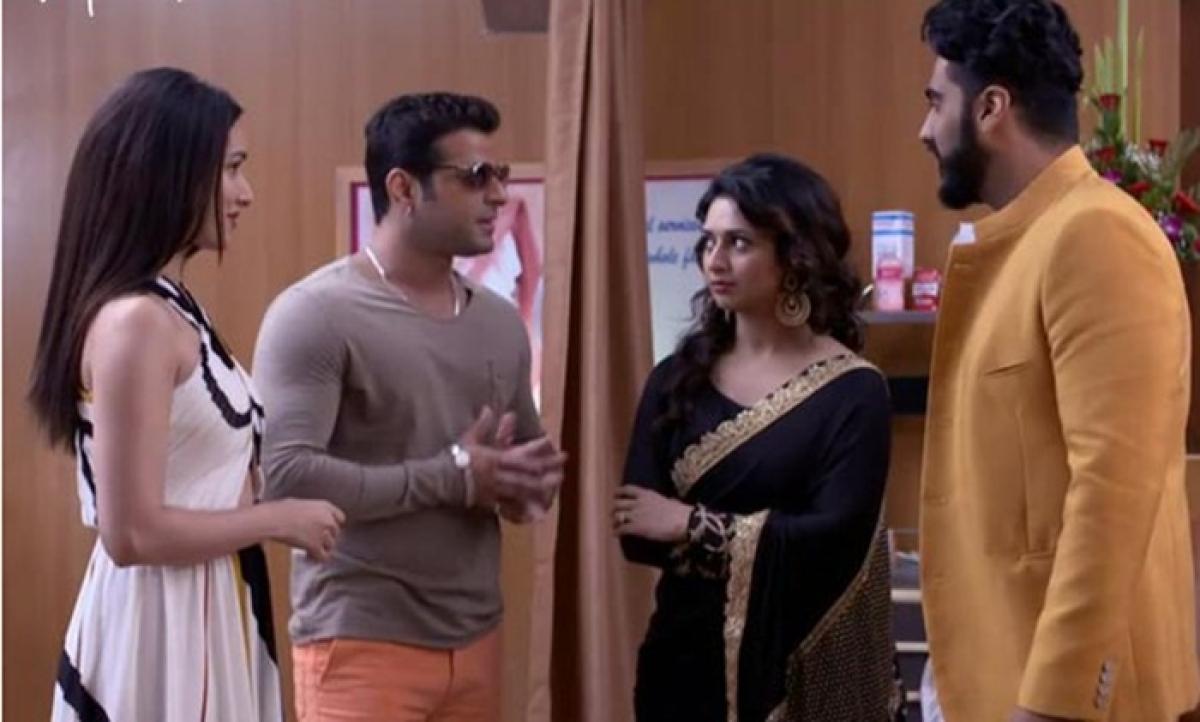 Half Girlfriend stars Shraddha Kapoor and Arjun Kapoor on Yeh Hai Mohabbatein sets!