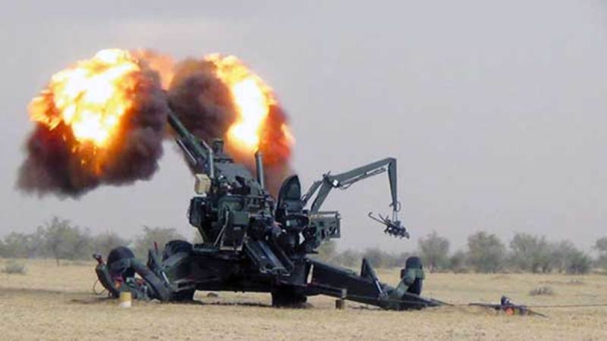 India received first modern artillery guns, 30 years after Bofors scandal