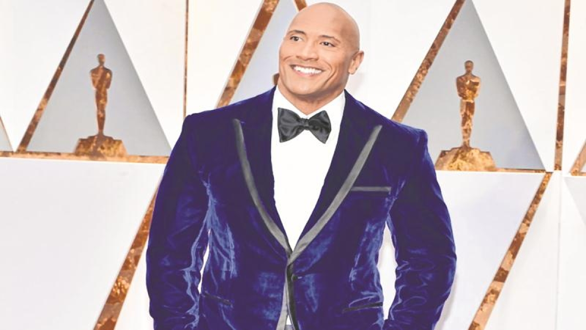 The Rock has his eyes on the Oval office