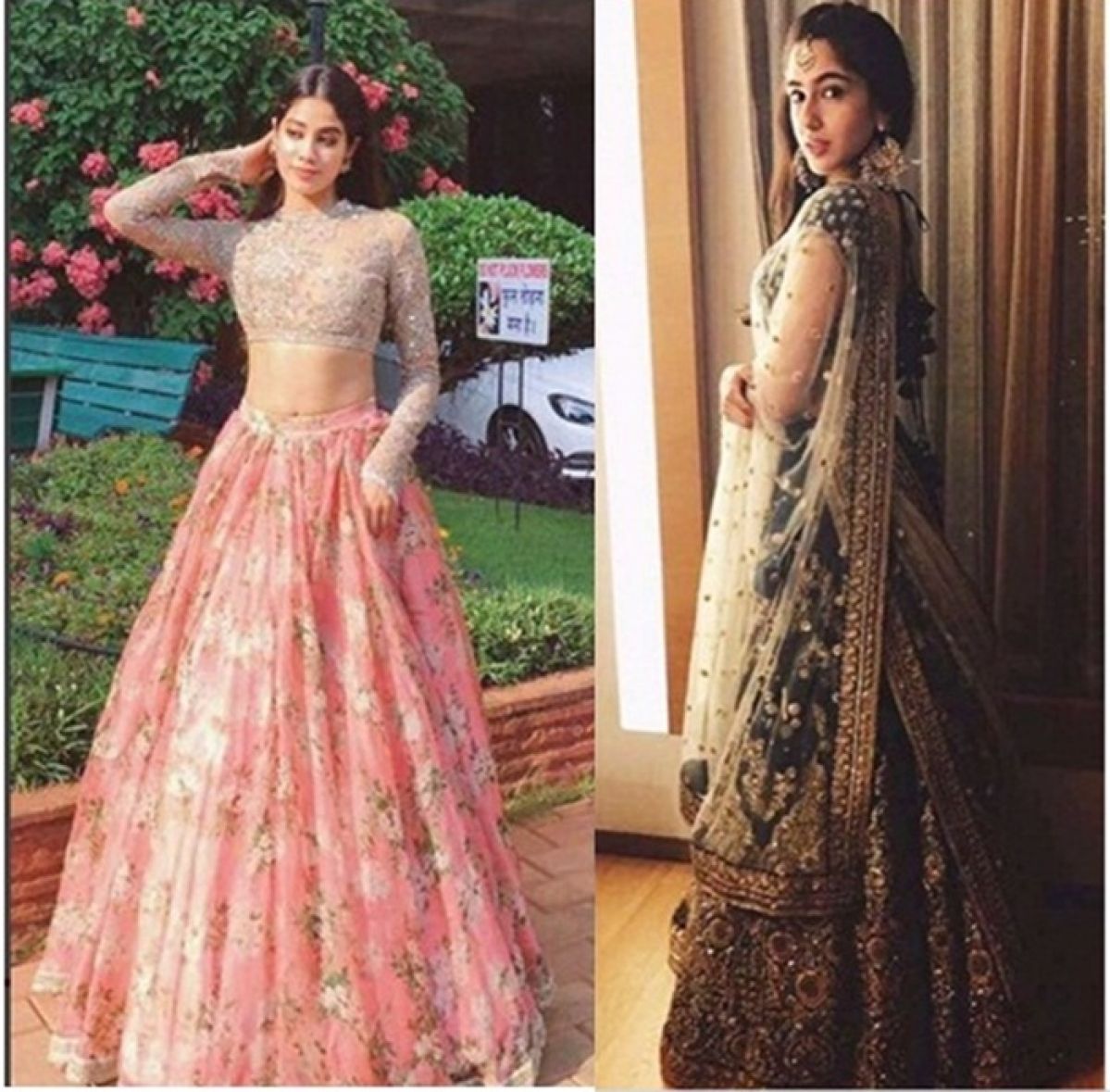 This is what Sridevi has to say about comparison between Jhanvi and Saif's daughter Sara Ali Khan