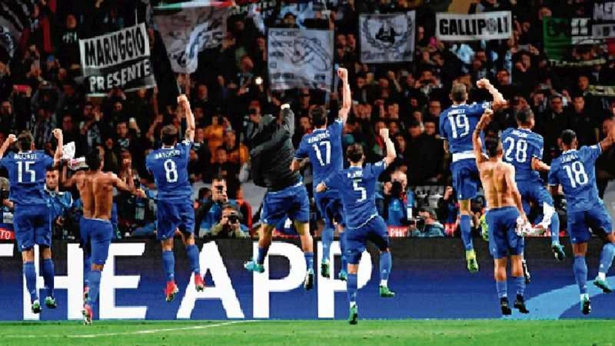 Juventus close on CL final