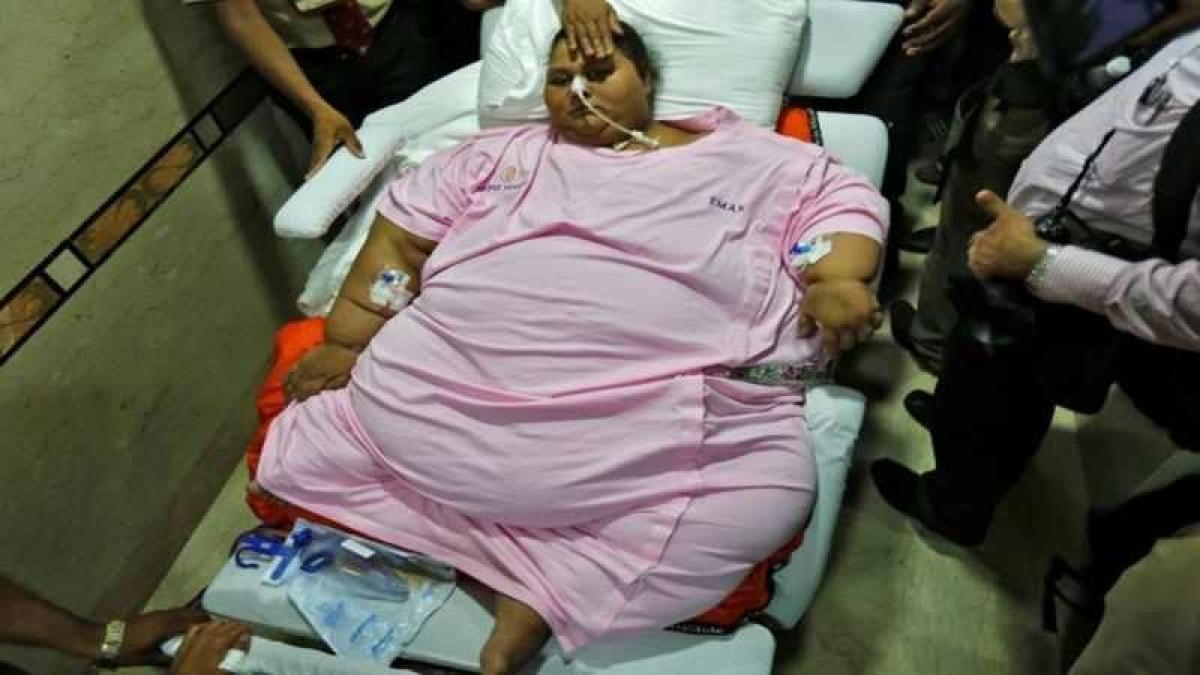 330kg less, 83 days later, Eman Ahmed says bye to Mumbai