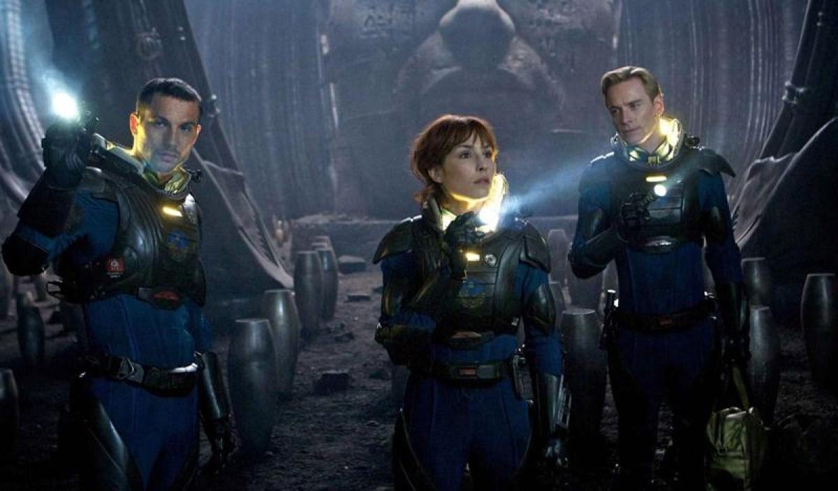 Gory & terrifying sci fi actioner: Alien- Covenant